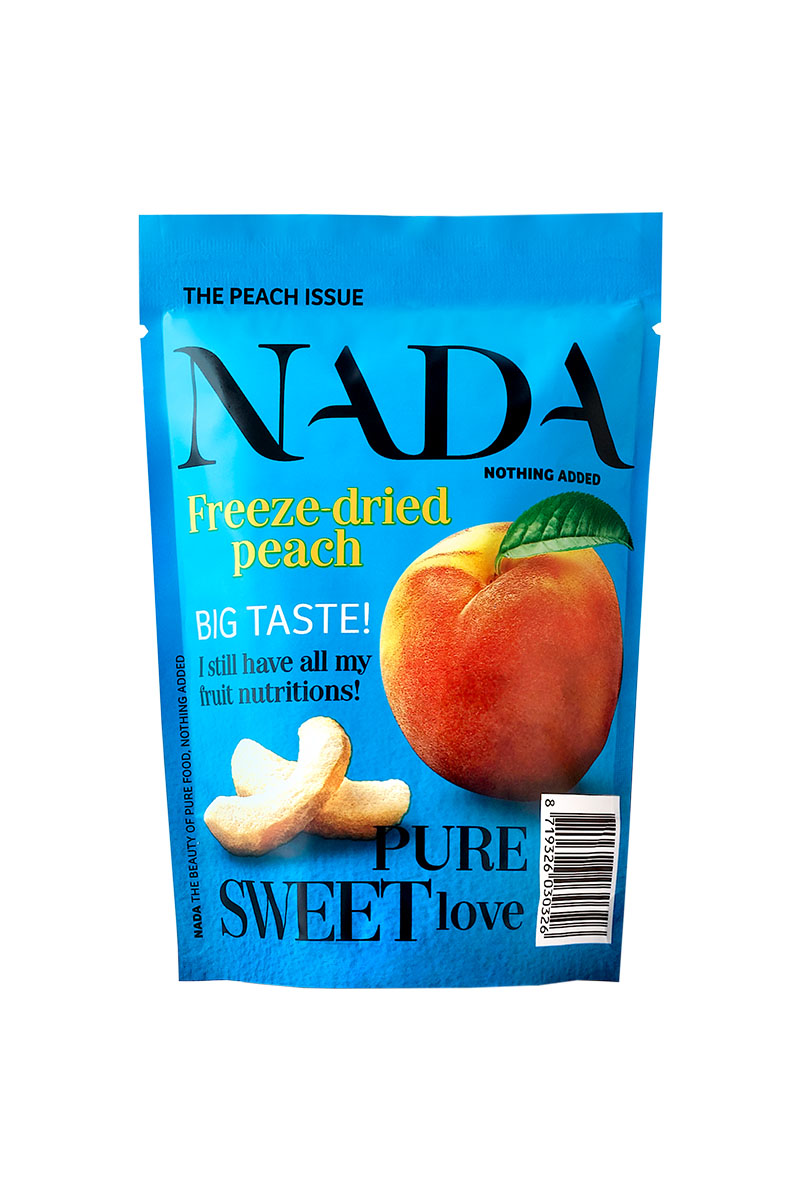 NADA Freeze-Dried Peach