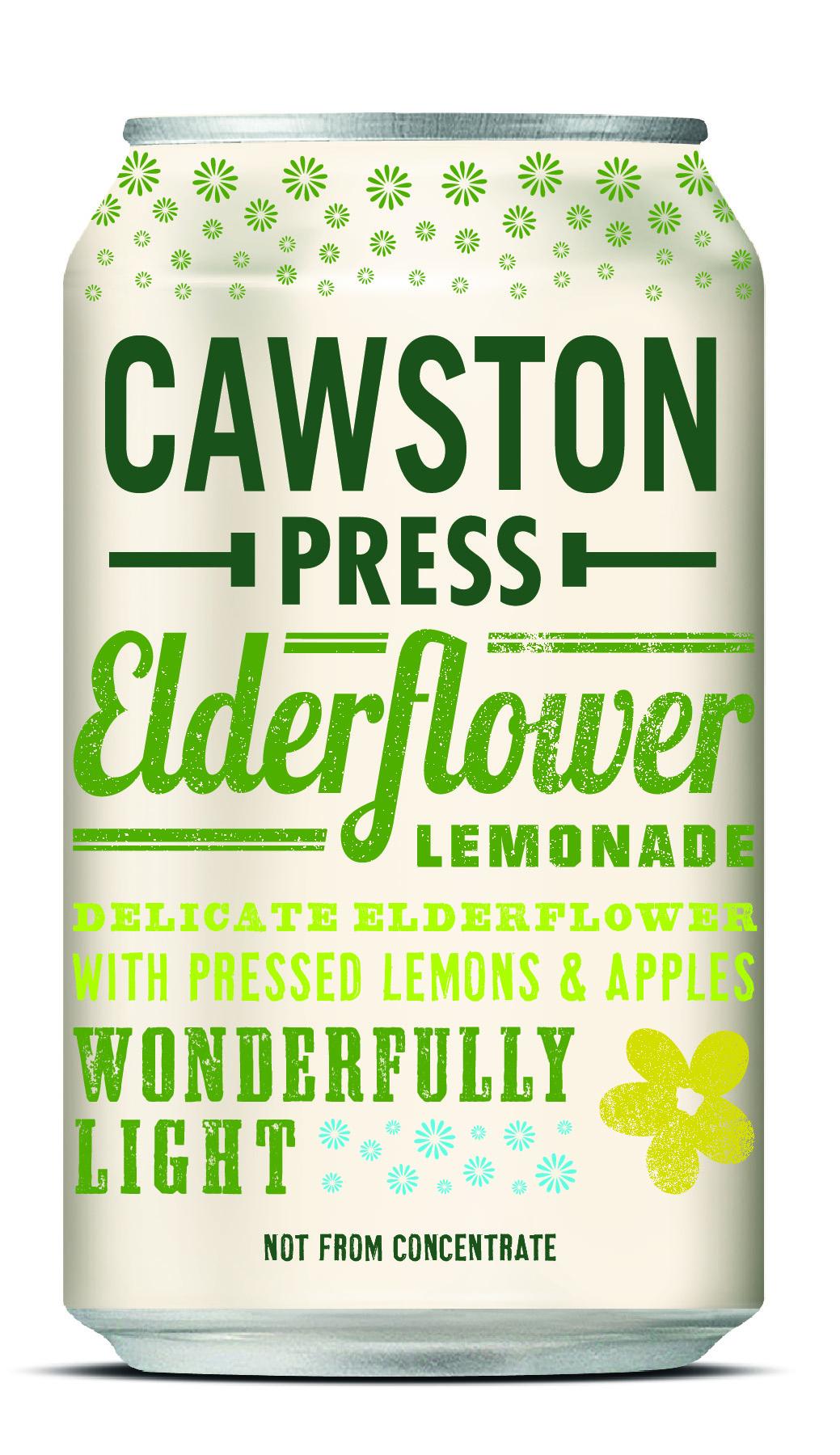 Sparkling Elderflower Lemonade Multipack 6x4