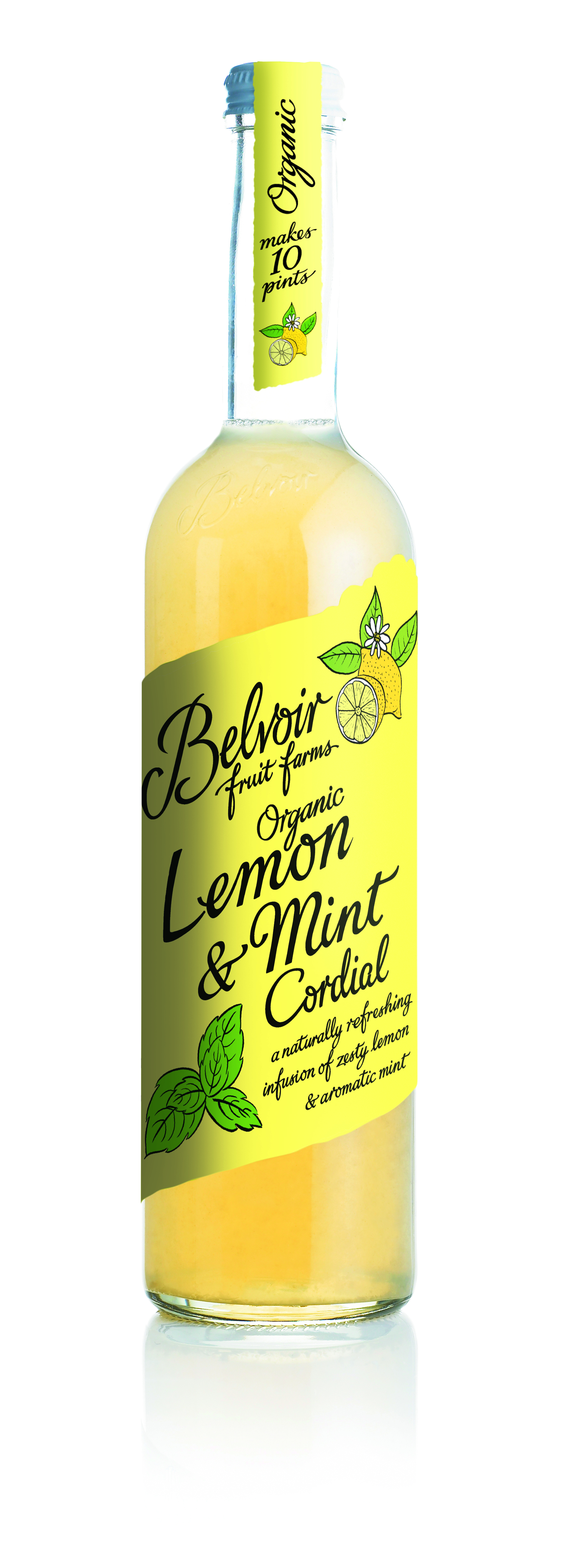 Lemon & Mint Cordial BIO