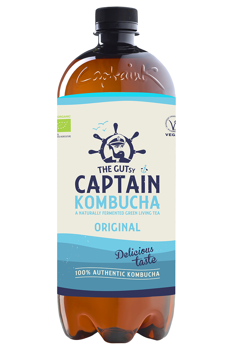 The Gutsy Captain Kombucha Original BIO