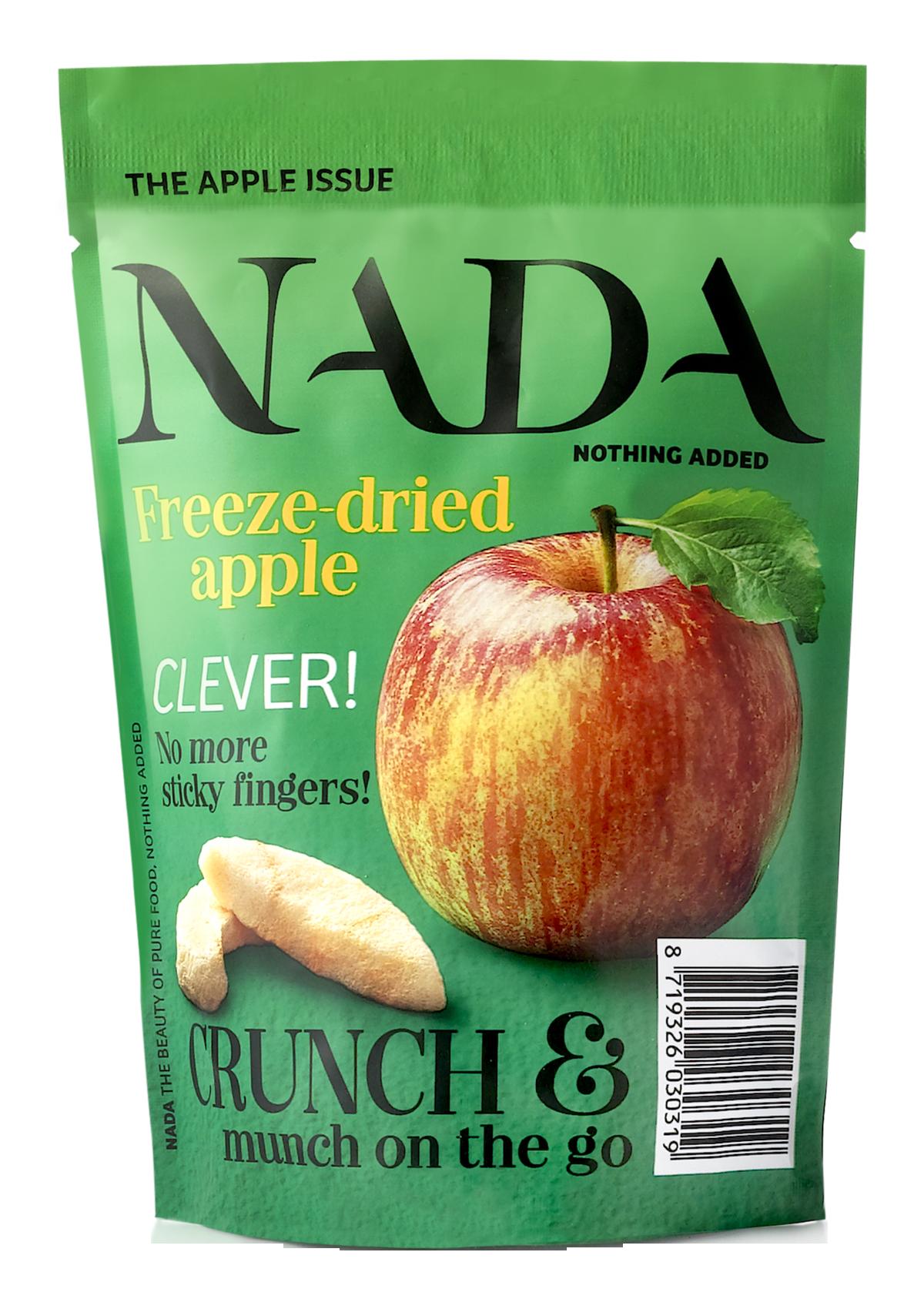 NADA freeze-dried apple