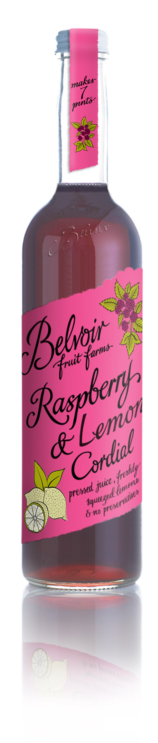 Raspberry & Lemon Cordial