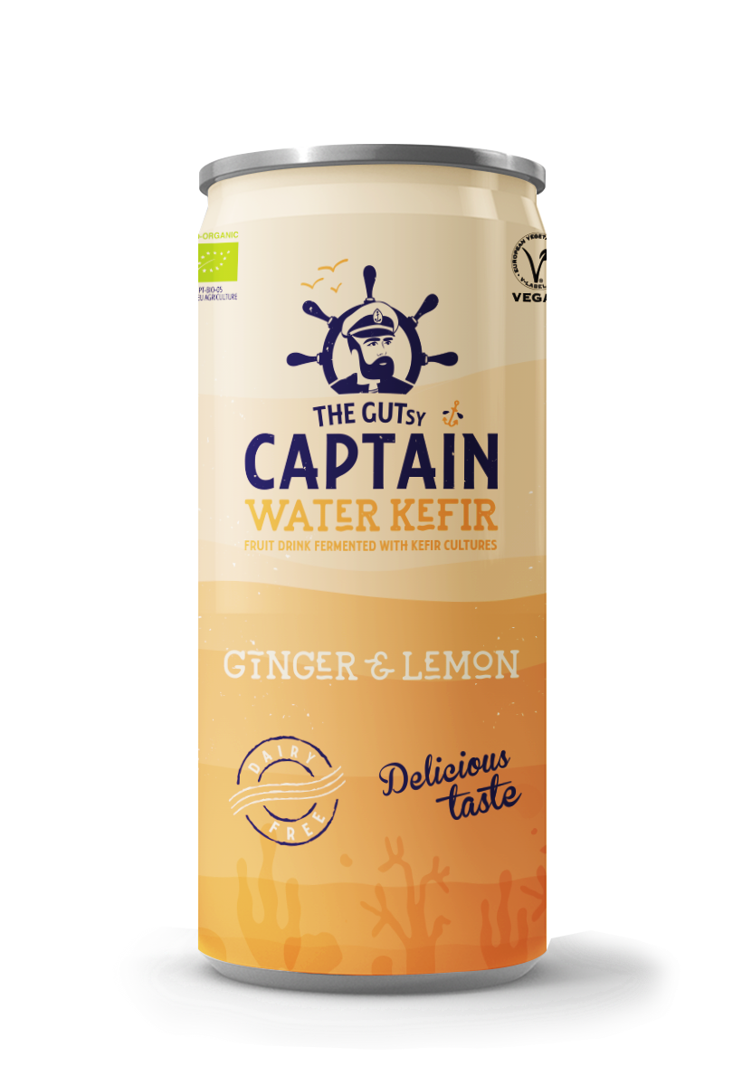 Water Kefir Ginger & Lemon BIO