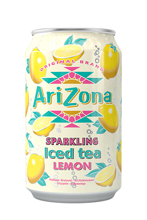 Sparkling Lemon Iced Tea