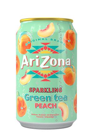 Sparkling Green Tea Peach