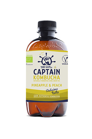 Kombucha Pineapple Peach BIO
